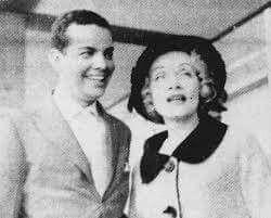 Marlene Dietrich and Caubi Peixoto, 1959: