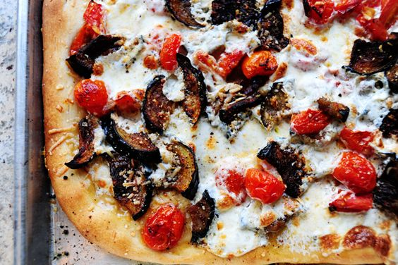 PW's Favorite Pizza | Recipe | Pizza, Eggplants and Tomatoes