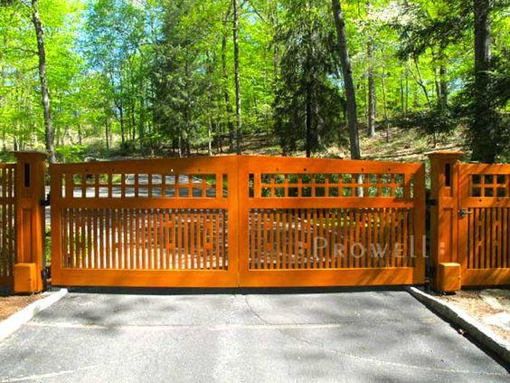 Craftsman, Entrance Gates And Gates On Pinterest