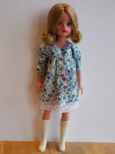 1975 SUMMER SMOCK & HAT VARIATIONS INSPIRED OOAK OUTFIT FOR SINDY. NO DOLL | eBay