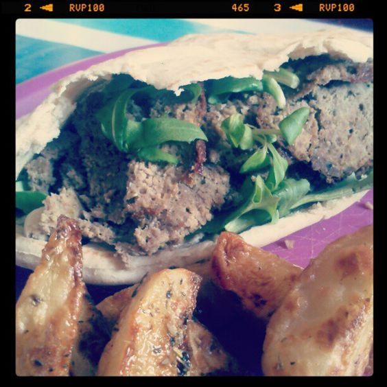 Jen's Place: Homemade donner kebabs