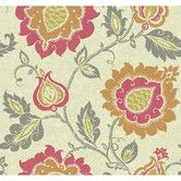 """Found it at Wayfair - Carey Lind Vibe Jaco 27' x 27"""" Floral Wallpaper"""