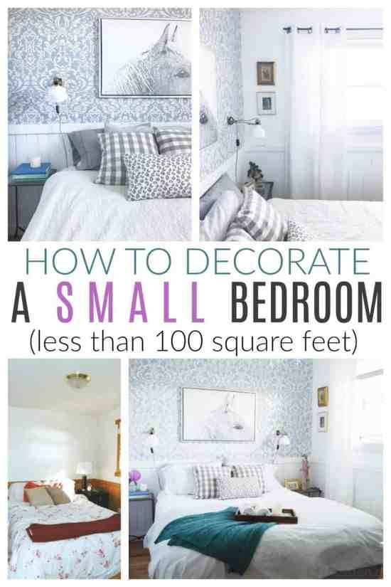 Inside My Best Tips For Creating A Stylish Small Bedroom This Room Is Only 9x9 And It S P Bedroom Furniture Layout Small Bedroom Diy Small Bedroom Furniture