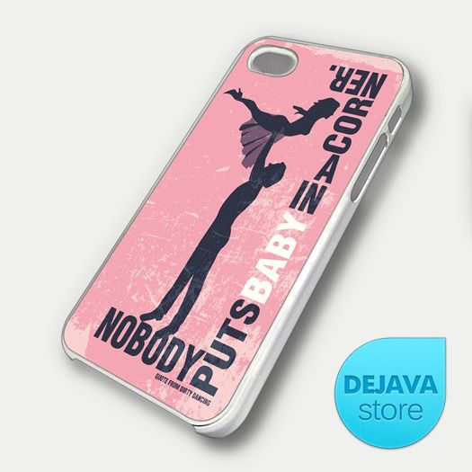 Dirty Dancing Movie Quote iPhone 5 Case