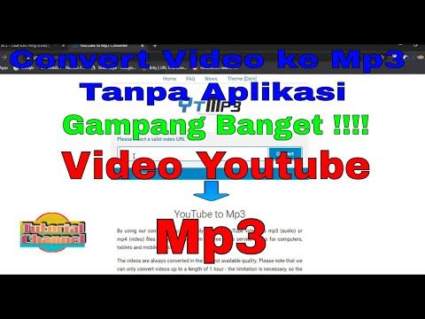 Cara Mengubah Mp4 Ke Mp3 Di Laptop Tanpa Aplikasi Tutorialchannel Youtube In 2020 Tutorial Mp3 Channel