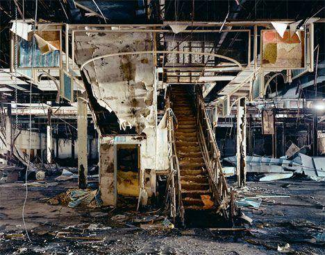 Creepy abandoned mall