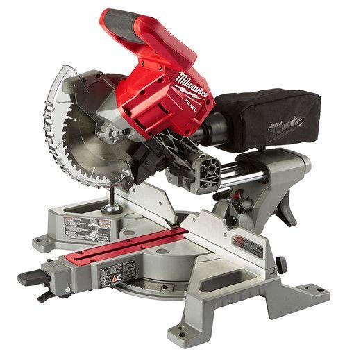 Milwaukee 2733 20 M18 Fuel 7 1 4 Dual Bevel Sliding Compound Miter Saw Tool Only Sliding Compound Miter Saw Saw Tool Miter Saw