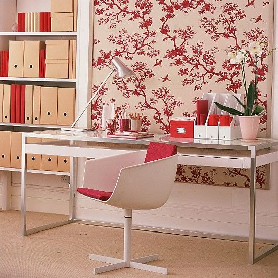 Oriental-style home office