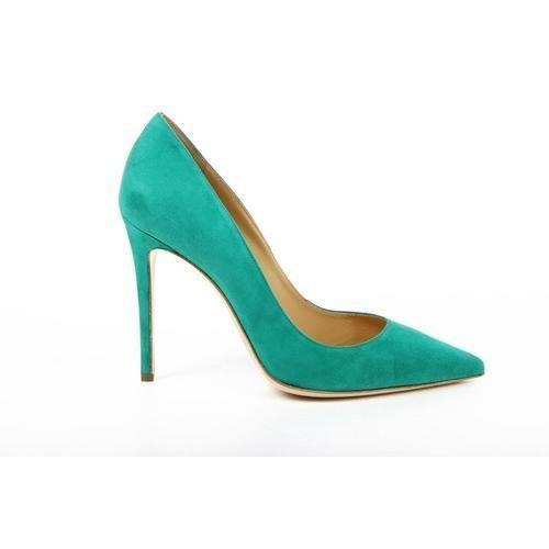 Versace 19.69 Abbigliamento Sportivo Milano ladies pump 27903 CAMOSCIO VERDE