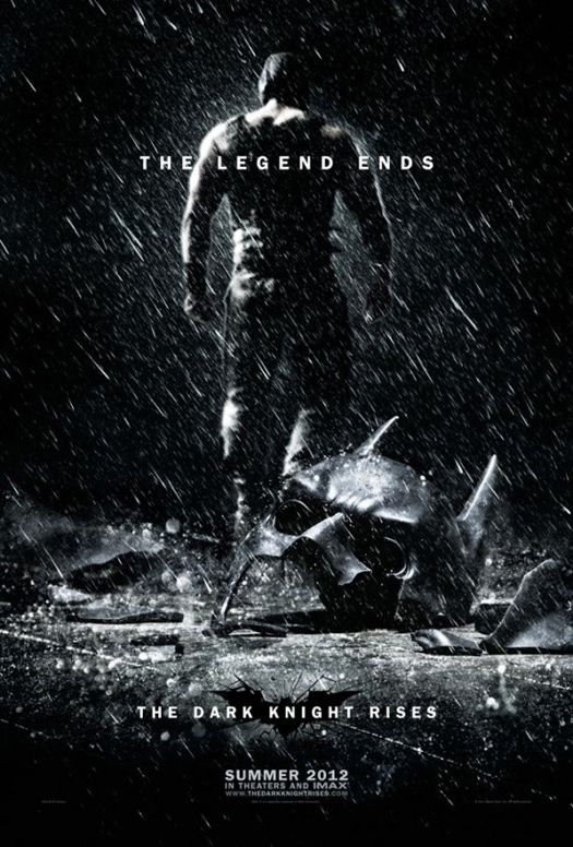 """New """"The Dark Knight Rises"""" Teaser Poster. Opens July 20, 2012"""