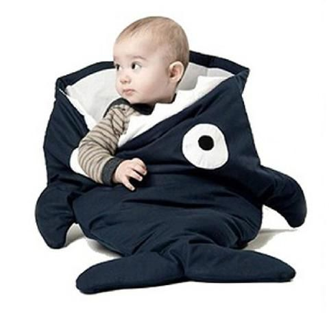 Infant Sleep Sack Comfortable Baby Sleeping Bag Unique Shark Design