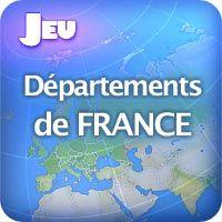 [DEPARTEMENTS FRANCAIS] Situe les départements sur la carte de France. Tu as deux minutes.