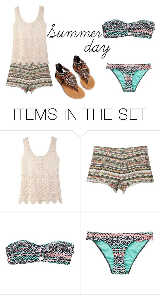 """""""Summer day"""" by paula-07 ❤ liked on Polyvore featuring art"""