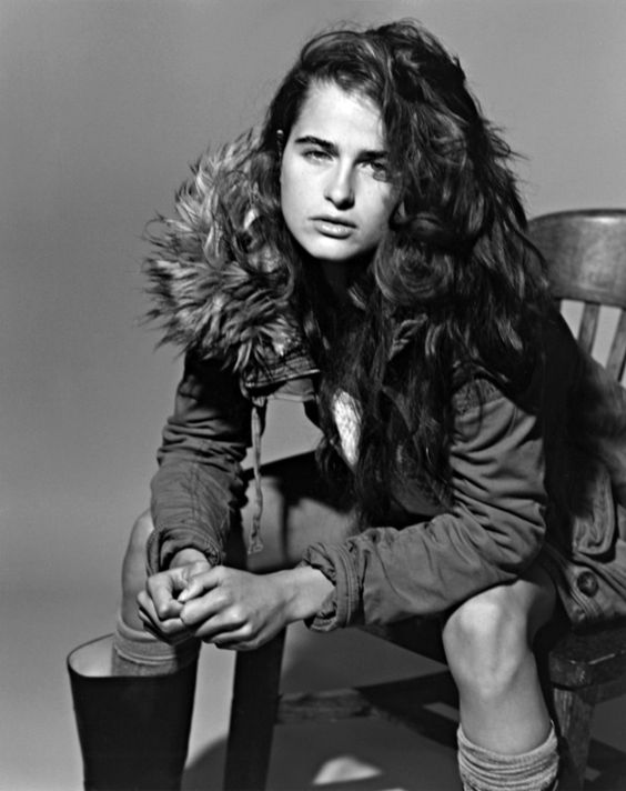 Loulou shot by Bruce Weber