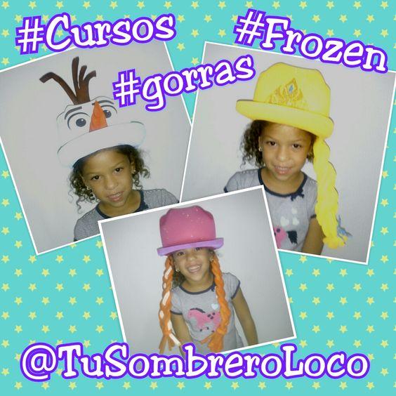 Gorras Frozen Visitanos: https://www.facebook.com/tuSombreroLoco  Cel/sms/wapp: 04249659430  BBM: 792AC1BD Mail: tusombreroloco@gmail.com