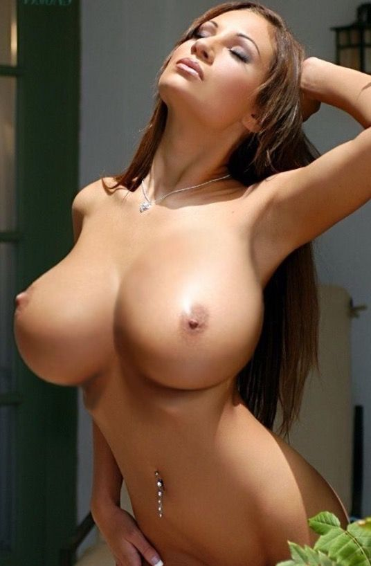Models boobs with big brunette nude