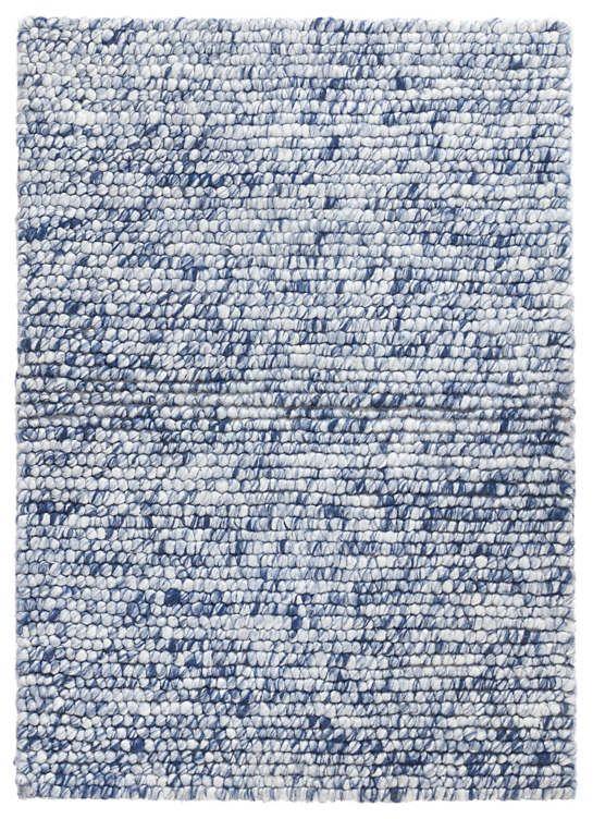 Niels Navy Woven Wool Viscose Rug Dash Albert Rugs Viscose Rug Rug Shopping