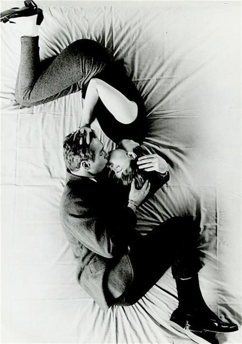 Paul Newman and Joanne Woodvard