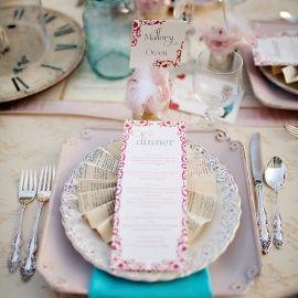 Shabby Chic Wedding Reception 7