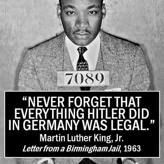 Dr. Martin Luther King quote I am sure some leftist trolls will shortly comment on how I should not be pinning this
