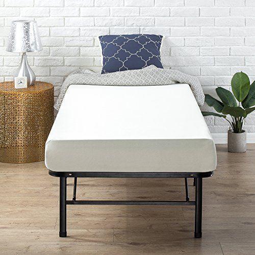 6 Inch Narrow Twin Size Green Tea Comfort Memory Foam Bed Mattress