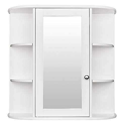 Zippem Bathroom Wall Cabinet Multipurpose Kitchen Medicine Storage