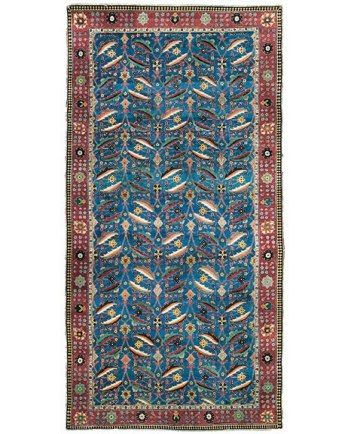 Persian. Herati/mahi(fish) pattern. 17th c