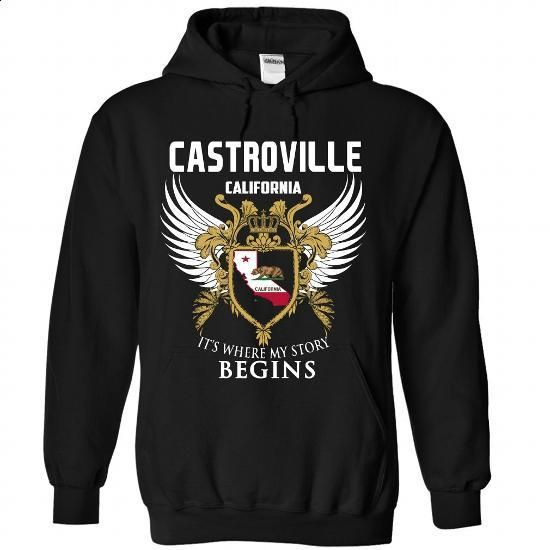Castroville- It where my story begins - #shirt details #baseball tee. CHECK PRICE => https://www.sunfrog.com/States/Castroville-It-where-my-story-begins-2676-Black-Hoodie.html?68278