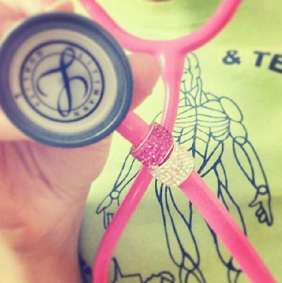 Bling for your stethoscope!