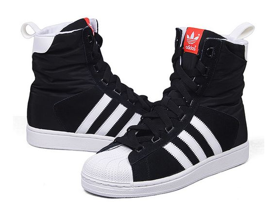 ADIDAS ORIGINALS SUPERSTAR BOOTS BLACK WHITE G95699 $199.00 | ADIDAS  SUPERSTAR SNEAKERS | Pinterest