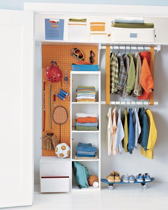 Como organizar el armario de los m s peque os diy - Como organizar armarios ...