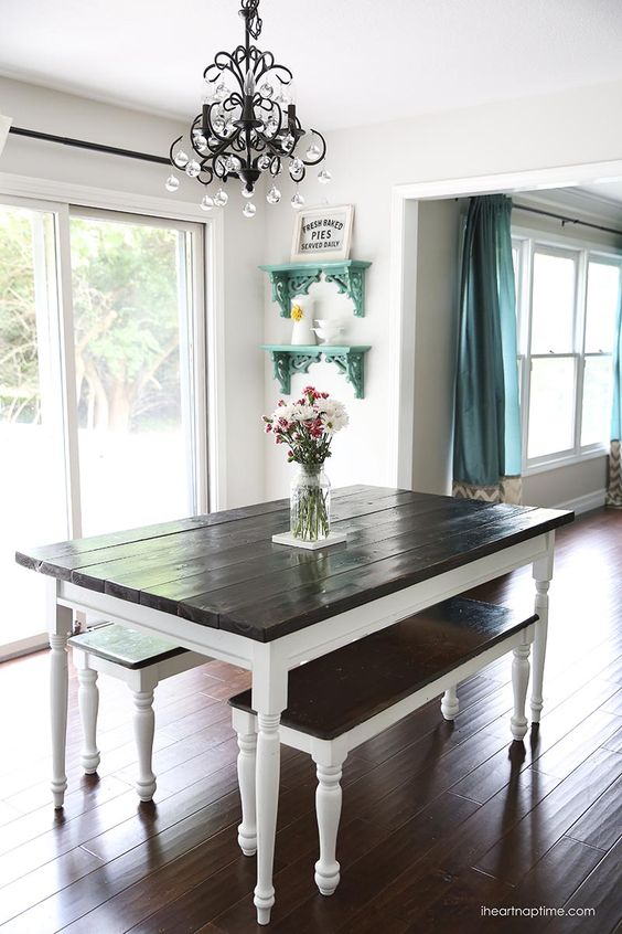 Simple Diy Round Dining Table
