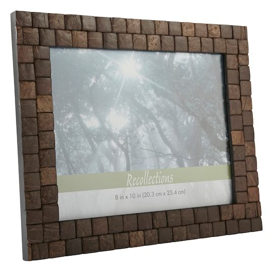 Coconut Shell Frame Expressions By Studio Decor In 2020 Shell Frame Coconut Shell Frame