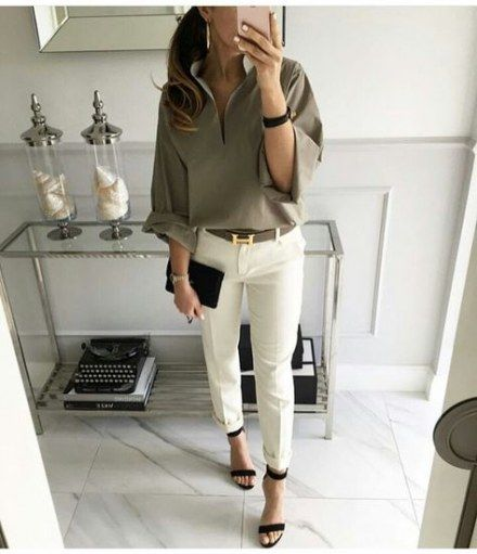 48+ Super Ideas How To Wear Green Shirt Spring Outfits