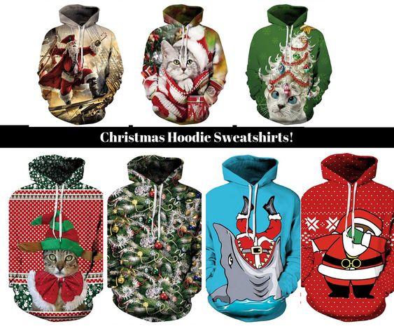Christmas Hoodie Sweatshirts