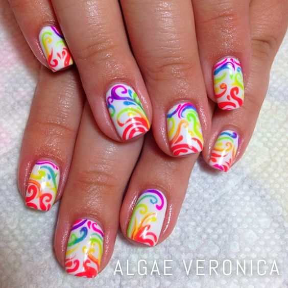 algaeveronica's photo on Instagram #nail #nails #nailart