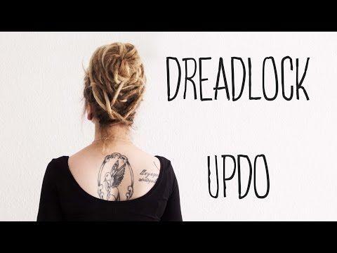 Dreadfrisuren: DREAD UPDO - Bienenkorb - Lina Larsen - YouTube