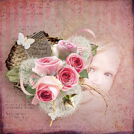 Pink'n pearls Collection by Vero - The French Touch @ The Studio : http://bit.ly/1cfH8U6 , Digiscrapboutique : http://bit.ly/1eMw6WJ & Scrapbookbites http://bit.ly/1amkPaw