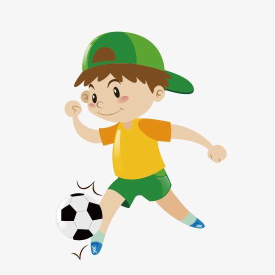 لعب كرة القدم للأطفال مجانا كرة القدم المرسومة قصاصات فنية صبي الكرتون Png والمتجهات للتحميل مجانا Kids Clipart Kids Clipart Free Kids Soccer