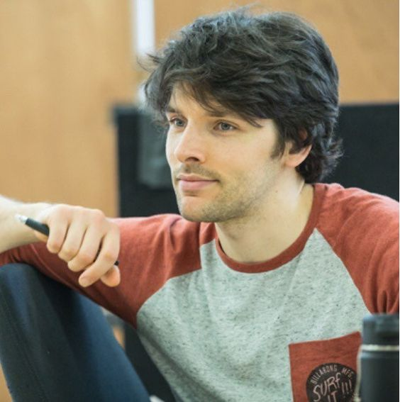 New pictures of Colin Morgan in Gloria - Rehearsals June 2017
