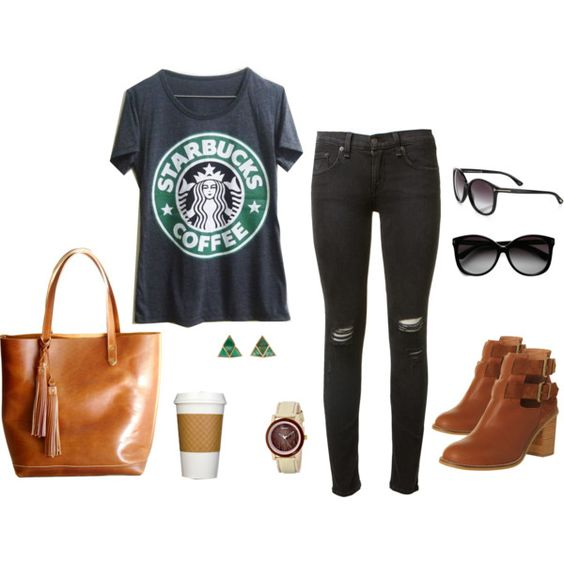 """""""coffee break"""" by jessicaf5987 on Polyvore"""
