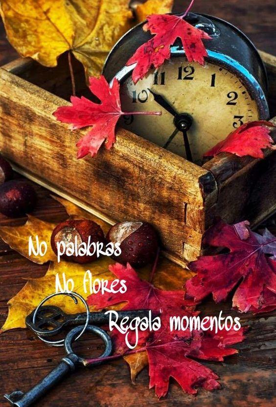 Lo más valioso que podemos obsequiar a las personas que amamos,es nuestro tiempo. No flores,no regalos,es el momento;debido a que éste nunca volverá y ... - María Inés Monterde Ibarra - Google+