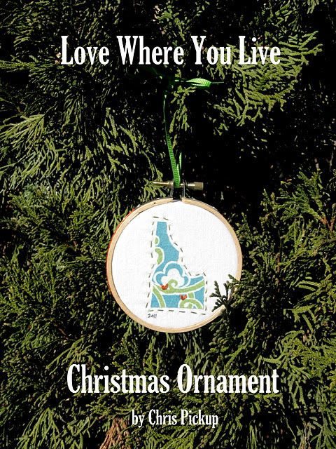 State/Country ornaments...collect through the years.