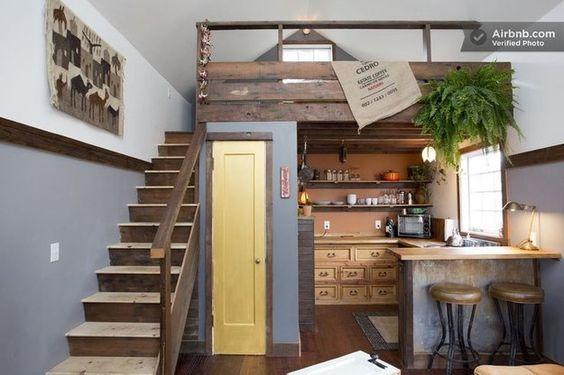 Agrega un desván encima de tu cocina...