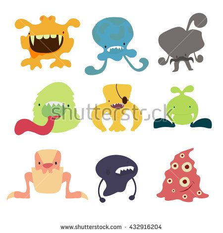 monster stock vector from the largest library of royalty free images only at shutterstock awesome office table top view shutterstock id
