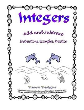 math worksheet : adding and subtracting integers practice 6th grade  adding  : Subtracting And Adding Integers Worksheet