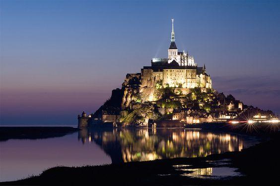 Le Mont-St.-Michel, Basse-Normandie, France