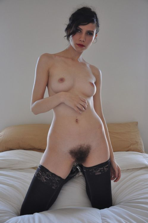 Pussy hairy nude