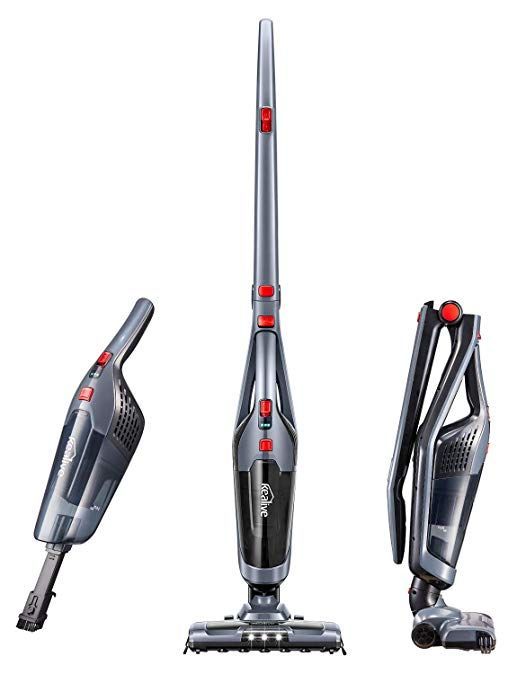 Cordless Vacuum Kealive 8000 Pa Stick Vacuum Cleaner 2 In 1