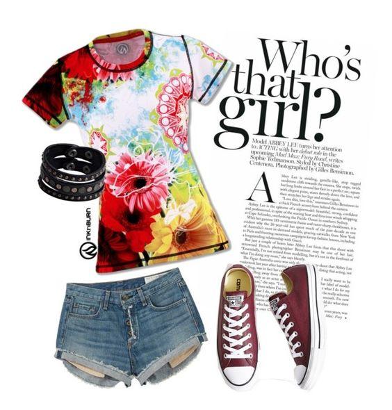 My favorite Wildflower shirt to run in and play in! #INKnBURN #beautiful
